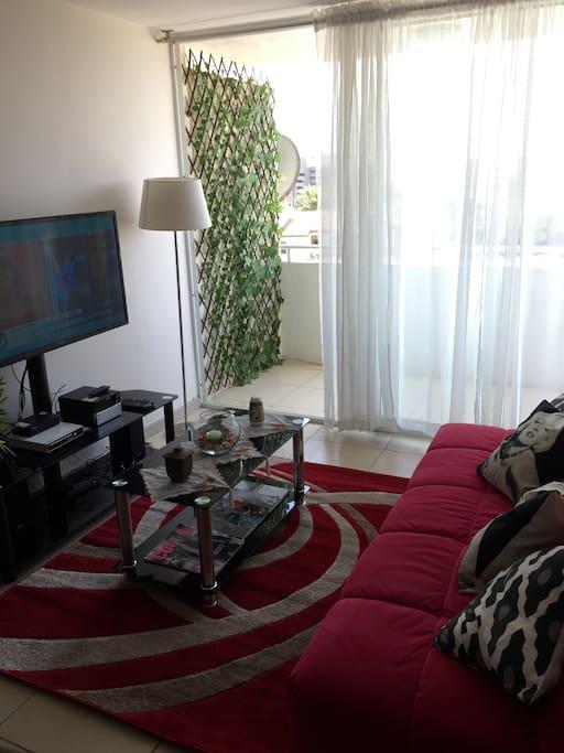 Living .tv con cable y dvd radio Cd