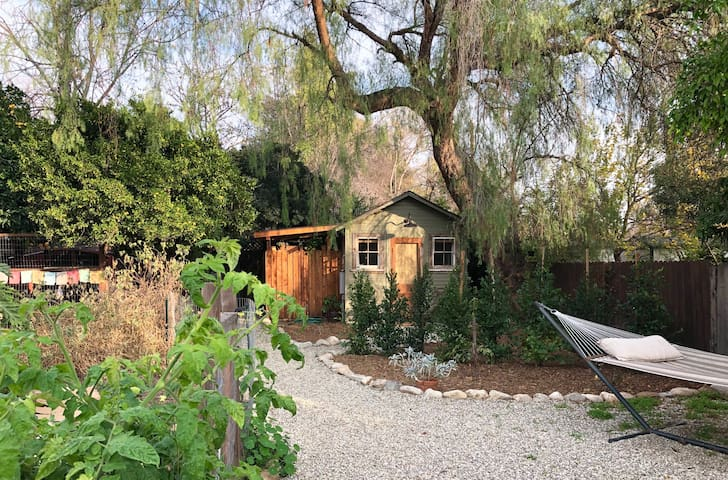 The Pepper Tree Cottage.