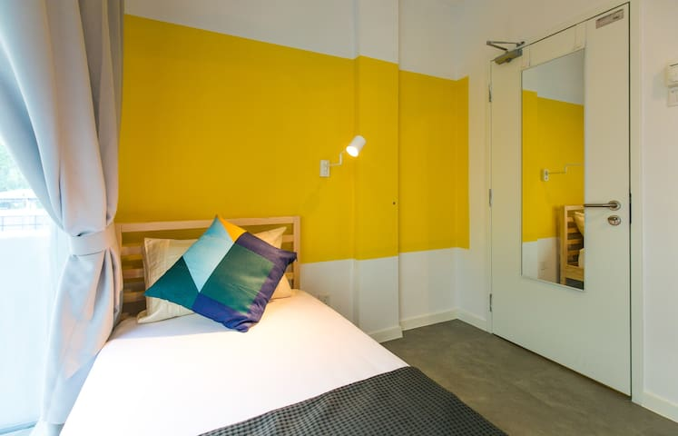 Private Room@UpstairsDownstairs Coliving KL