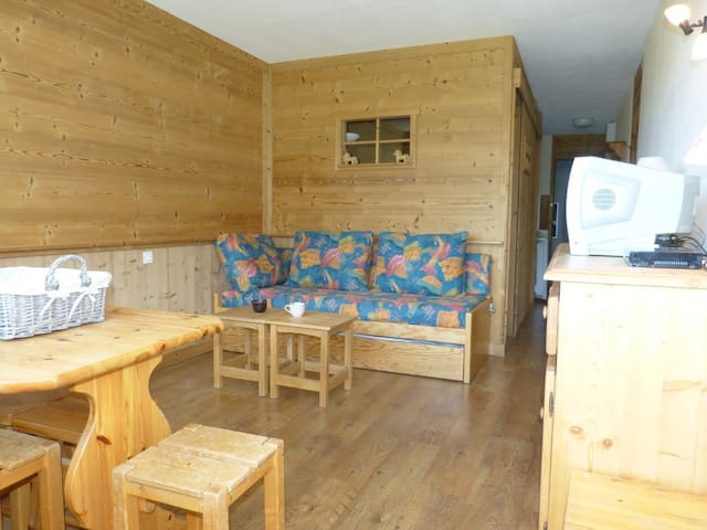 Studio comfort with a cabin 26 sqm close to the slopes