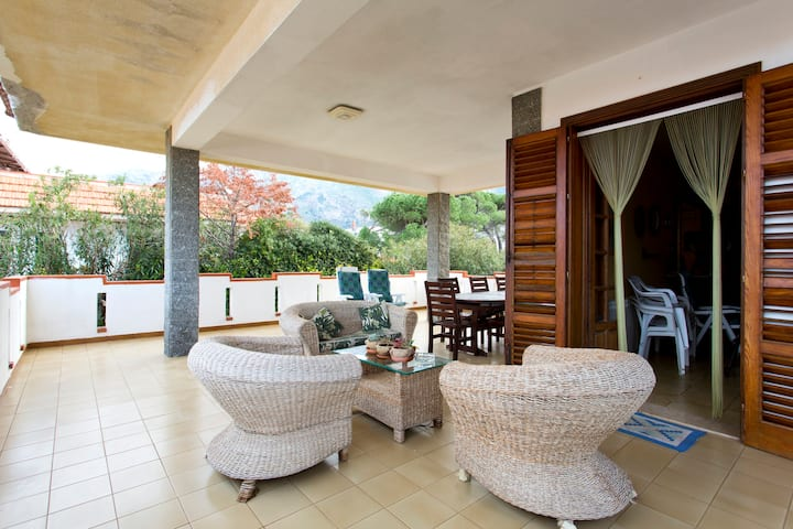 Capaci,TOP Villa 80MT sea +10people