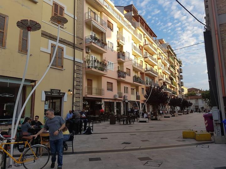 Apartment in Pescara city center, Centro pedonale