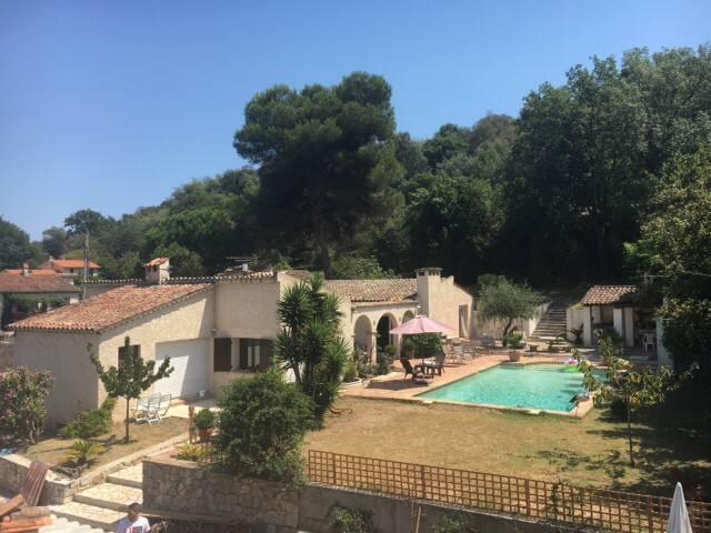 Maison 2p dans propriété privée proche de Cannes - Vallauris - Casa