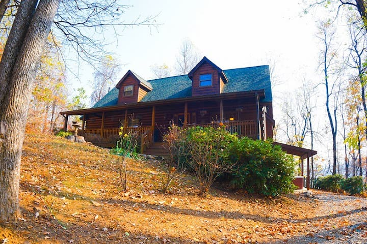 The Sanctuary Cabin - Hendersonville - Kabin