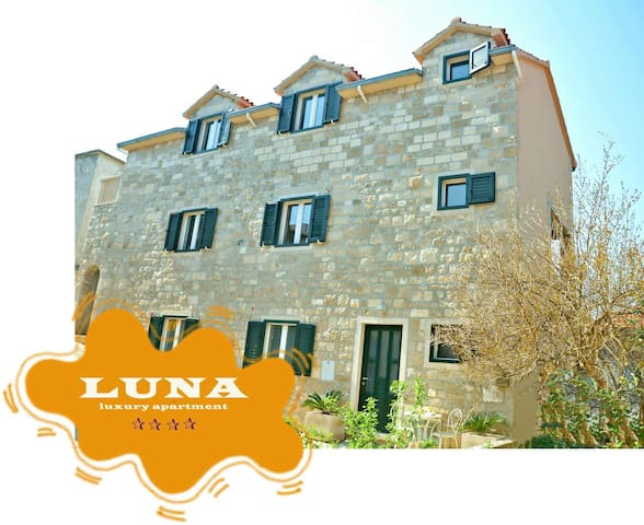 Luxury Luna for 6 - Postira - Appartement