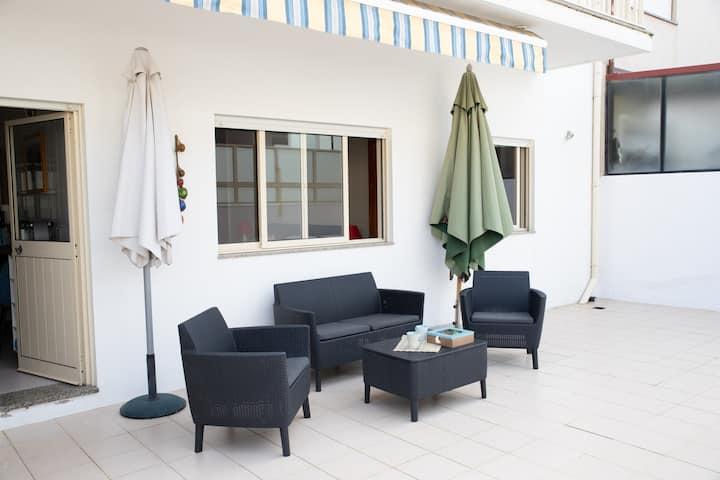Appartement Espinho grande terrasse