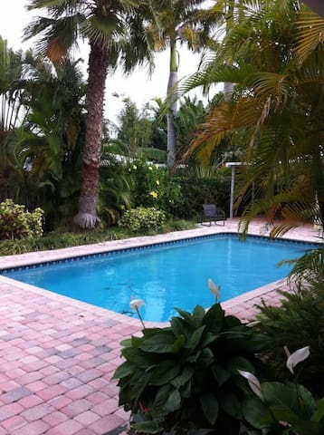 Few minutes to the beach, resturants, and shops - Fort Lauderdale - Apartmen