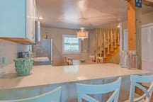Recently remodeled kitchen including ice maker