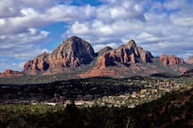 Thunder Mountain in West Sedona