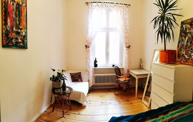 Ruhiges Zimmer in Schöneberg mit bester Anbindung
