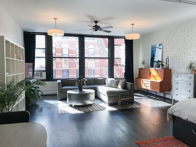 Beautiful Airy Lower East Side Loft
