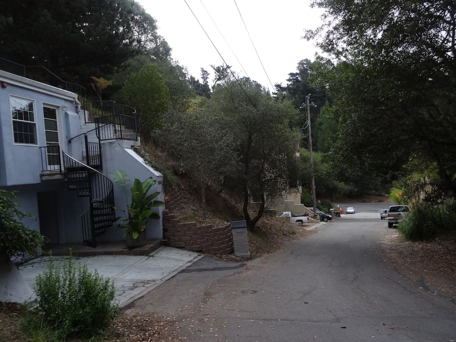 House is located a short straight drive off of Shepherd Canyon Road (at the bottom of the hill)