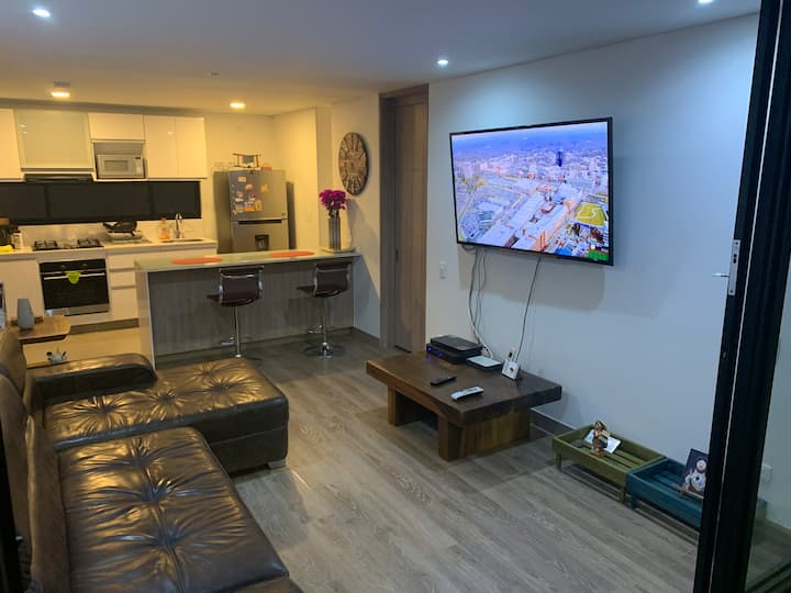 Nice and cozy apartment for rent in Bogotá