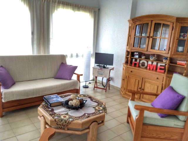 Ca la mireia is a lovely flat in upper Calonge - Calonge - Wohnung