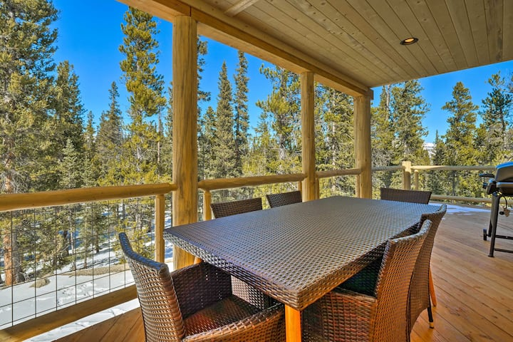 Fairplay Mountain House w/Wraparound Deck & Grill!