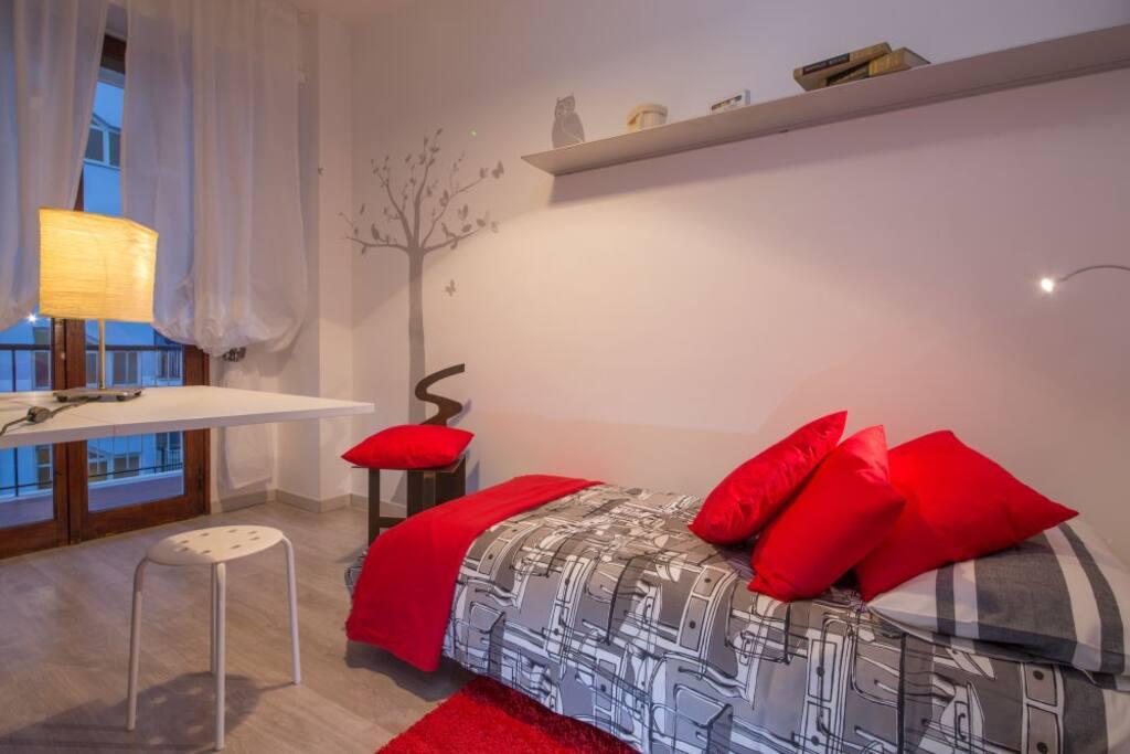 Camera da letto con 2 letti singoli