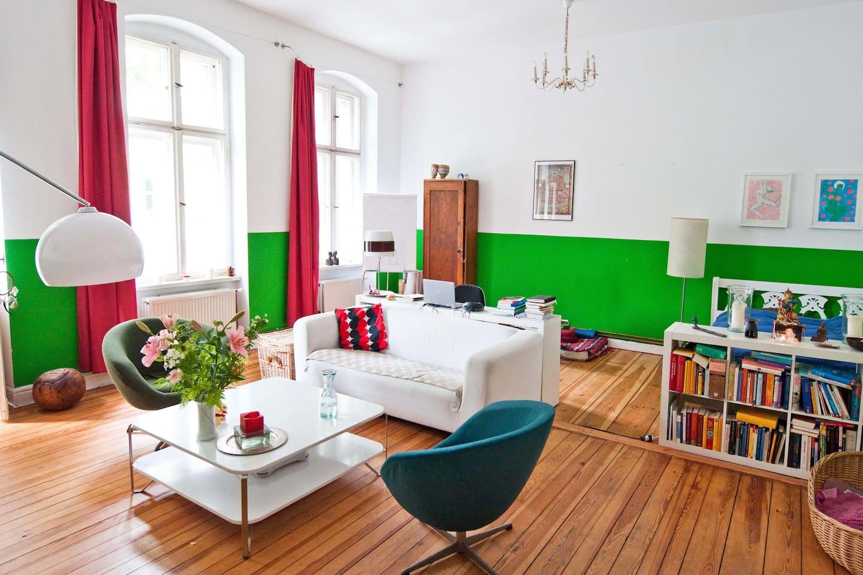 Fresh & spacious 2-room apartment