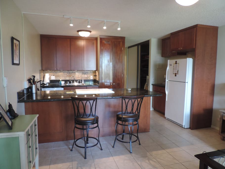 Brand, new kitchen remodeled October 2014