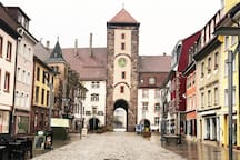 Centrally located cozy place in Old Beautiful Town Villingen