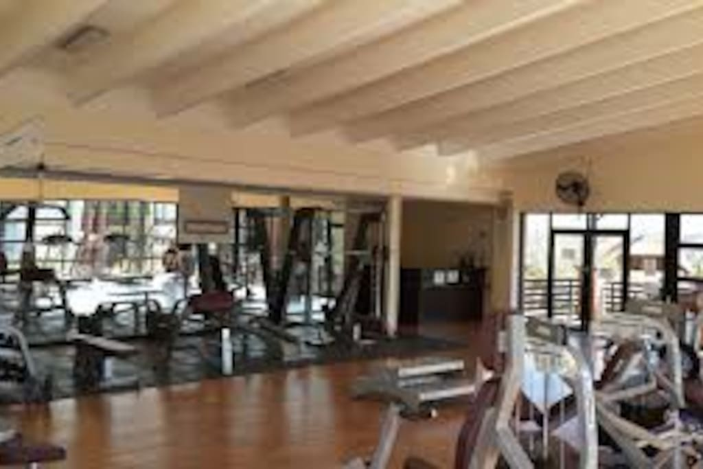 Fully Equipped Gym and Pool