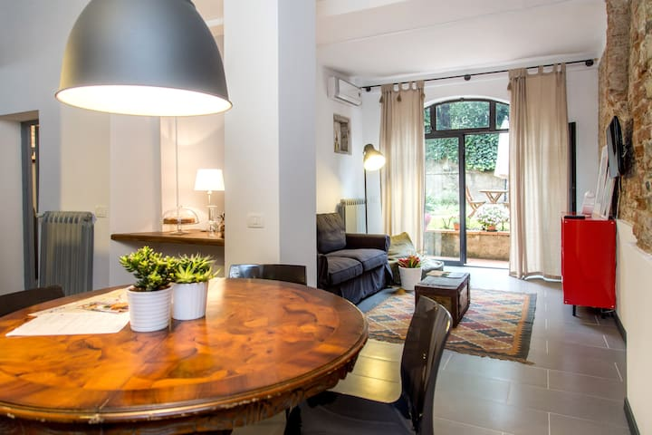 Tuscan Apt in the heart of Florence - Firenze - Leilighet