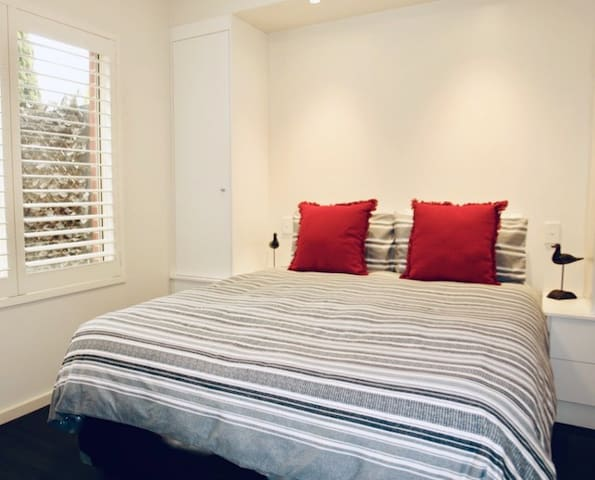 Main bedroom with built in robes and very comfortable pillow top mattress