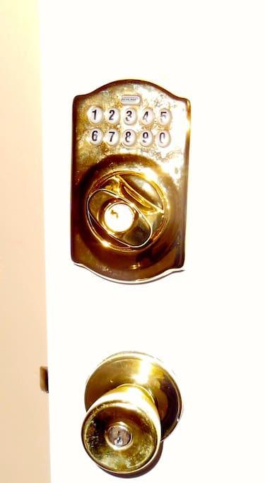 Keyless access!