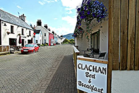 A Double Room (Rm 1) at Clachan B&B - Dornie - Aamiaismajoitus