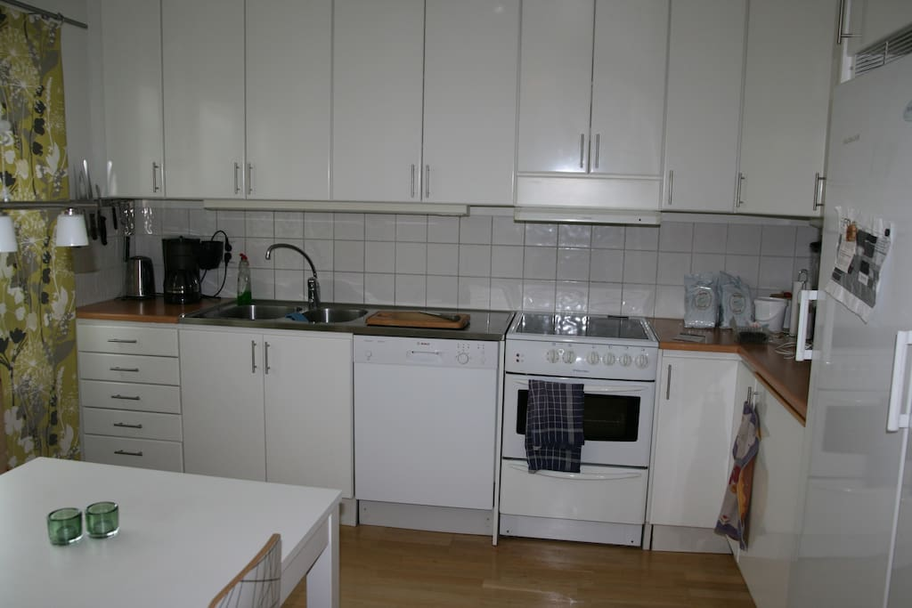 Well equipped kitchen with all the comforts you need