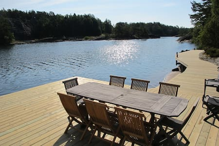 Stockholm archipelago villa with own private dock - Stockholm - Rumah