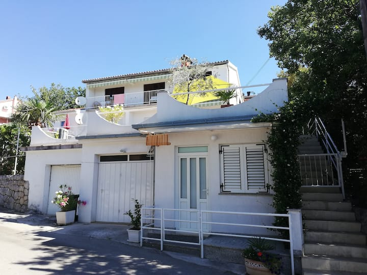 Apartment with magical terrace in Crikvenica
