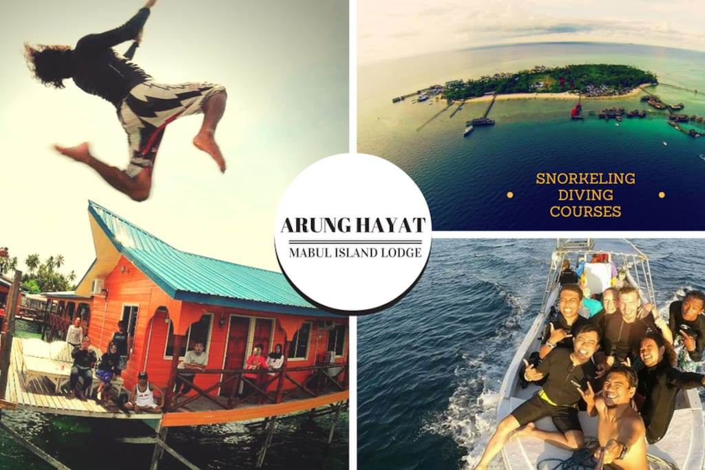 Arung Hayat Lodge in Mabul Island