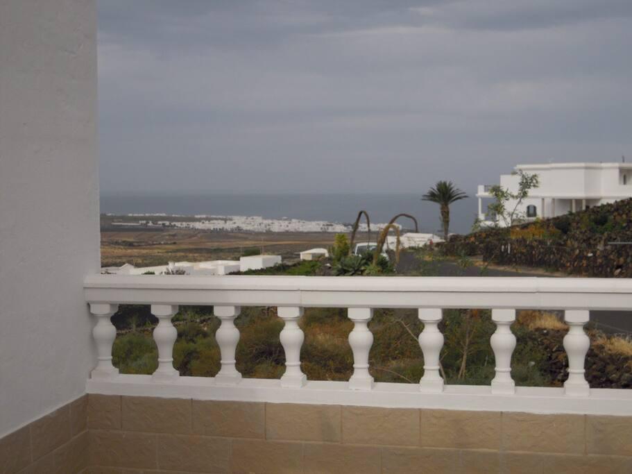 vista de la terraza.