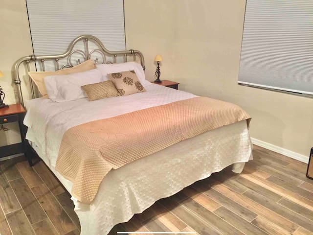 North bedroom; has a TV in it!