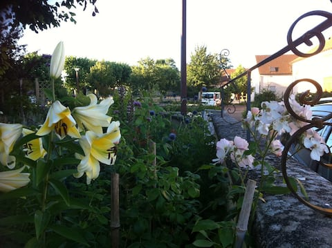 Le jardin aux deux tilleuls