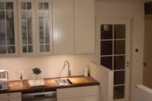 New kitchen 2013, 1st floor. We prepare your breakfast here.