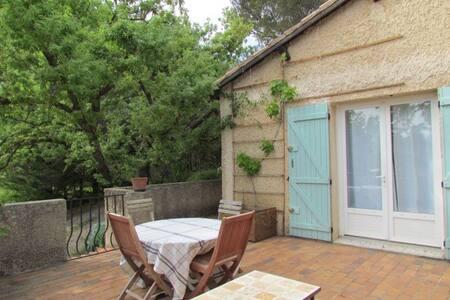 Petite maison à l'ombre des chênes - Mérindol - Huis