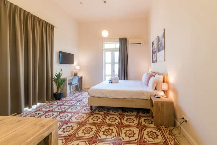 Beautiful deluxe room with private patio