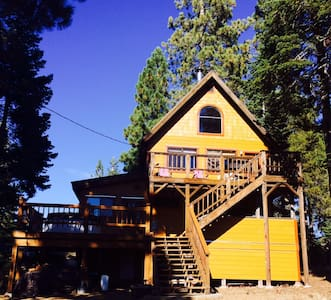 Relax & Play at Hearts Nest Cabin - Bear Valley - Haus