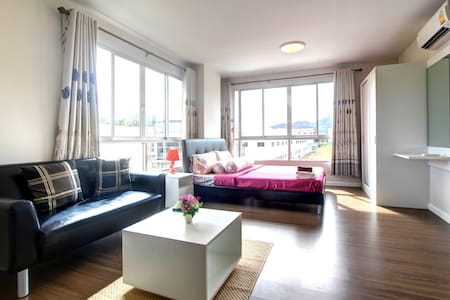 PHUKET 1BD+SOFABED POOL, FREE MOPED PKT1 - กะทู้