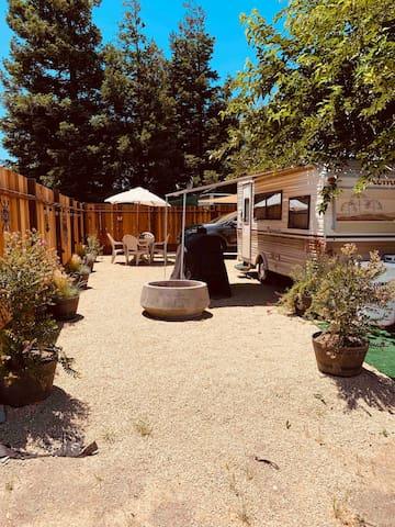 Vintage Ponderosa Camping