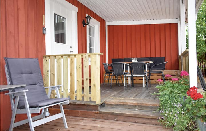 Awesome home in Löttorp with WiFi and 1 Bedrooms