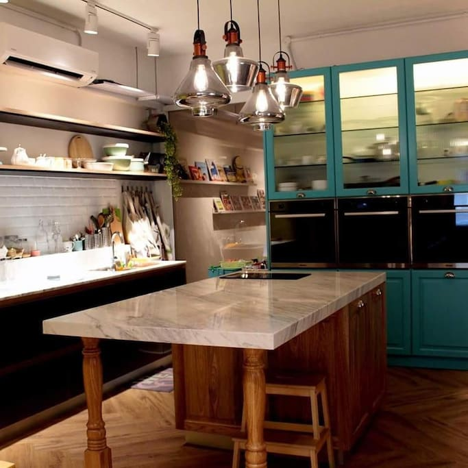 This our private kitchen. We're provide basic baking class (pre-booking is required)