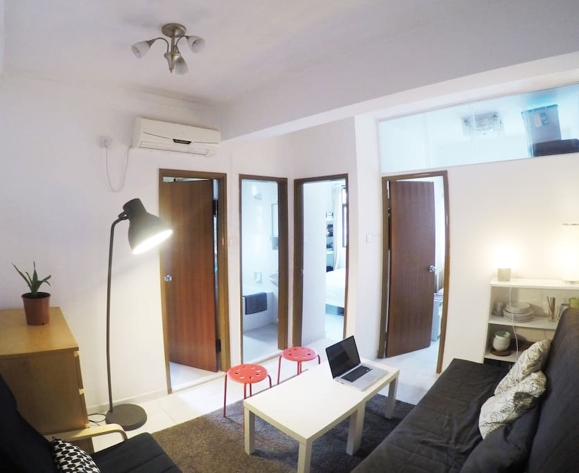 Double room apartment at high street appartements louer hong kong island new territories - Farbiges modernes appartement hong kong ...