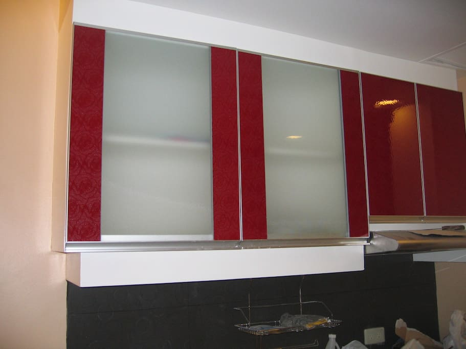 IMPORTED GLASS DOORS FOR THE KITCHEN CABINET