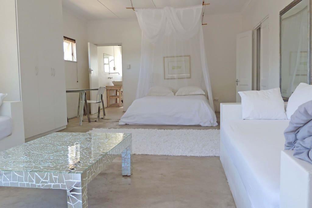 Interior of White Suite