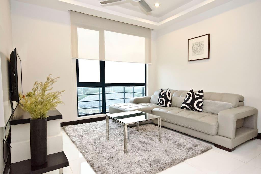 Tastefully decorated  apartment