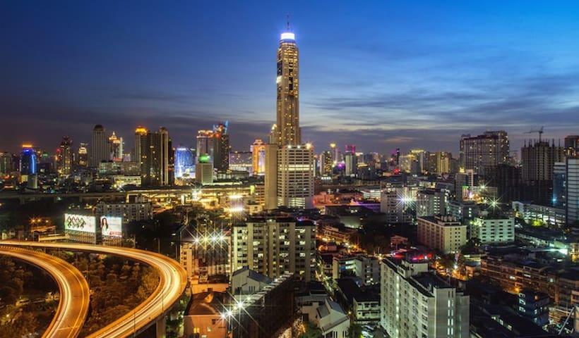 2BR PLATINUM CENTRALWORLD CT2 - Bangkok - Byt