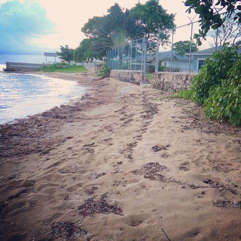 Walk on the beach?