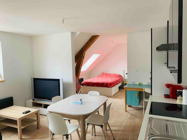 Studio neuf 35m²